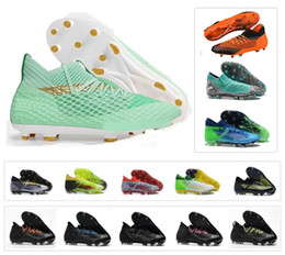 Nuevas zapatillas de fútbol spike online-Nuevo tobillo alto FUTURE 2.1 NETFIT FG / AG Griezmann Reus Suarez EvoSpeed 18.1 Netfit On / off FG Spike Fútbol de fútbol para hombre Zapatos Botas Calas