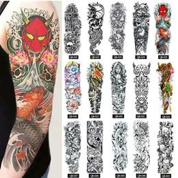 2019 disegni di arte 3d Fashion New New Teens Guys Uomo Donna Impermeabile Geometry Tattoo Stickers per braccia Fashion New Teens Tattoo