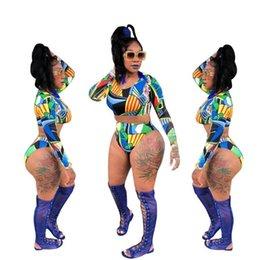 Mode Geometric Print Sommer Frauen Bikini Set Bodys Damen Zweiteilige Trainingsanzug Nette Hohle 2 Stück Strand Schwimmen Anzug von Fabrikanten