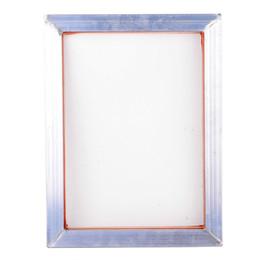 Cadre 31 * 41cm en aluminium pour impression d'écran A3 avec maille en polyester imprimée soie blanche 43T pour cartes de circuit imprimé de haute précision ? partir de fabricateur