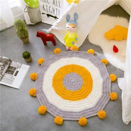 2019 hand eingehakt teppiche 2019 meistverkauften gestreiften ball teppiche carpet matten hand süchtig schlafzimmer teppiche fußmatten 1 stück günstig hand eingehakt teppiche