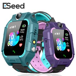 2019 sos watch sim Z6 Reloj inteligente Bluetooth para niños IP67 LIFE WATERPROOF 2G Tarjeta SIM LBS Tracker SOS Kids Smartwatch para iPhone Android Smartphone sos watch sim baratos