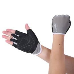 2019 gants d'entraînement en plein air Mesdames Bodybuilding Gants ventilation Gants Antiskid Fitness Gym Wear plein air entrainement vélo Femmes gants d'entraînement en plein air pas cher