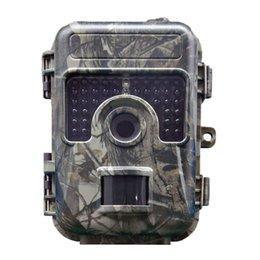Cámara de visión nocturna al aire libre impermeable online-Cámara de visión nocturna para caza al aire libre 1080P 16MP sin brillo 38 LEDS Fast Trigger IP66 Waterproof Wild Camera