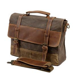 M275 Mens Messenger Bag in pelle impermeabile uomini Borse Vintage Borse a tracolla grandi Satchel 14