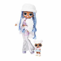roupas de plástico para meninas Desconto Surpresa! Inverno Disco Snowlicious Fashion Doll meninas da irmã Brinquedos T200209