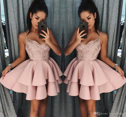 7cc56eef60223 Discount Rose Homecoming Dresses   Rose Gold Homecoming Dresses 2019 ...