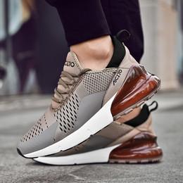 Chaussure homme adulte en Ligne-Homme Vente respirante Fitness chaussures de sport chaussures de course en plein air hommes Chaussures Confortable Bas élastique jogging baskets adultes