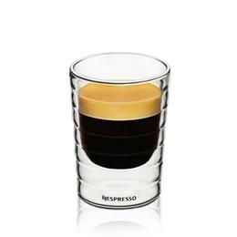 óculos de champanhe de strass Desconto Dupla Camada De Vidro Copo Homem Mulher Transparente Artesanal Vinhos Copos De Vinho Do Hotel Copos De Tabela Venda Quente 13 hm L1