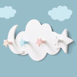 Argentina Star Moon Nube Forma de clavo Sombrero sin clavos Ganchos para ropa Estante Colgador Colgador Llavero Nube Pared Puerta Gancho Colgador Toalla Ganchos supplier free shape key Suministro