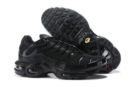 Streetwear sneakers online-Alle Black TN Classic Herren Laufschuhe 2019 Streetwear Herren Olivgrün Trainer Sportschuhe Sneakers