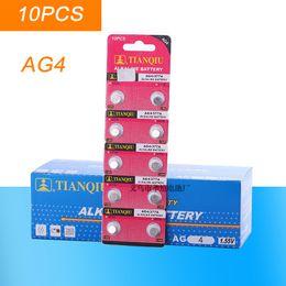 батарейки для элементов питания 377 Скидка Оптовая 10шт/лот =кнопка 1cards AG4 377 LR626 SR626SW SR66 LR66 часы 377А сотового монет аккумулятор ,батарея TIANQIUBrand