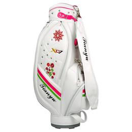 628981a26 Las mujeres Auténticas bolsas de golf de gran capacidad El paquete estándar  Las bolsas de golf pueden contener un juego completo Stand Caddy Airbag  Bags ...
