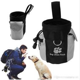 2019 sacs à provisions pour chiens en gros Pet Chien Snack Sac Étanche Obéissance Mains Libre Agilité Appât Alimentaire Formation Traiter Poche Train Pouch