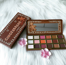 high quality eye palette Promo Codes - EPACK New Gingerbread eyeshadow Spice Eyeshadow Makeup Palette 18colors Eye shadow Palette Shimmer Matte High quality