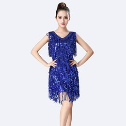 2a224881b34b China Hot Sale Latin Dance Dress Women Sexy Tango Samba Latin Dance Dress  Sequin Lady Ballroom