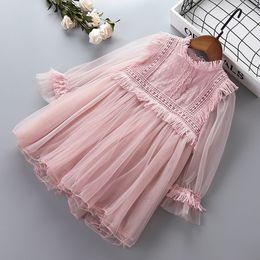 prinzessin kleider für das alte mädchen Rabatt Mädchen Prinzessin Spitzenkleider Baby Mädchen Party Ballkleid Kleid Frühling Herbst Kinder Kleidung für 2-8 Jahre alt Kinder Kleidung