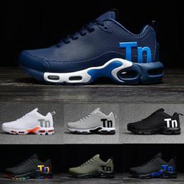 2019 plata menta real Nike air max tn plus airmax tns 2019 Nuevos Hombres Mercurial Plus Tn Ultra SE Negro Blanco Naranja Desinger Zapatos para correr Mujeres Hombres Zapatillas Deportivas Tamaño 40-46