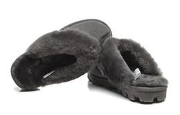 Australian klassische WGG warme Baumwolle Hausschuhe Männer und Frauen Hausschuhe Kuhfell Baotou dlippers Schnee-Aufladungen Votton Dlippers 137 von Fabrikanten