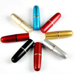 Imballaggio merci online-Merci in azione proiettile Rossetto tubo 12,1 millimetri Rossetto Materiali di imballaggio vuoto Shell multi colore di vendita popolari 1 8lyaH1