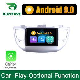 hyundai tucson mp3 spieler Rabatt Android 9,0 Ram 4G Rom 64G PX6 Cortex A72 Auto DVD GPS Multimedia Player Auto Stereo Navigationssystem Für Hyundai TUCSON 2015-2018 Headunit