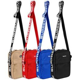 lo stile della strada del sacchetto di spalla Sconti Marea di marca Fornitore Moda 18SS 44th Tracolla Via stile di Hip Hop Canvas Messenger Bag bagagli Marsupio