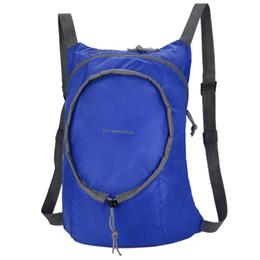 Gelbe rucksacktaschen online-Outdoor Motion Bag Wasserdichte Rucksack Nylon Material Unisex Ultraleichte Aufbewahrungstaschen Camping Gelb Weiß Heiße Verkäufe 15cj C1