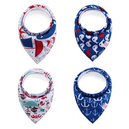 free baby packs Coupons - 74Styles Baby Bandana Bibs Set 4-Pack Super Absorbent Soft & Chic INS Triangle Drool Bibs for Boys & Girls Cartoon Fox Burp Cloths