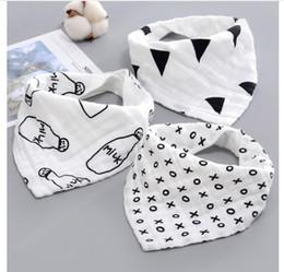 Neugeborenes Baby-Mädchen-Schellfisch-Karikatur-Baumwollbaby-Tuch-Bandanas-Schal-Kind-Krawatten-Säuglingskind-Schal 13 Arten geben Verschiffen frei von Fabrikanten