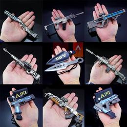 giochi di armi Sconti NUOVO APEX Legends Gioco Battle Royale Action Figure Gun Modello 21CM Alloy Weapons APEX Legends Keychain
