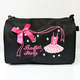 de3023119484 Kids Girls Fashion Adorable Ballet Tutu Dance Bag Embroidered Ballerina  Dancing Duffle Bag Handbag Shoulder