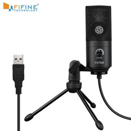 2019 mikrofonanschluss Aufnahmemikrofon USB-Anschlussanzug für Computer Windows MacBook Hohe Empfindlichkeit für Instrument Game Video-Aufnahme K669B rabatt mikrofonanschluss