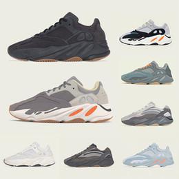 Adidas yeezy 700 V2 Magnet Utility Nero Kanye West Boost 700 V2 scarpe da corsa da uomo Tephra Vanta Analog Salt Static Uomo Donna Wave Runner Sneakers sportive color malva da