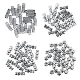fechos de jóias conectores Desconto 20 pcs Metal Parafuso Barrel Fivela Resultados Da Jóia Clasps Beads Conector para Colares Tornozeleiras Charm Bracelets Jóia Descobertas
