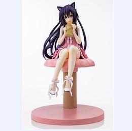 Сексуальные девушки онлайн-Аниме Date A Live Yatogami Tohka Princess 1/7 Sexy Cat Девушки ПВХ Фигурку Модель Куклы Игрушки