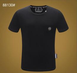 Canada 2019 Imprimé Phillip Plain T-Shirt Mode Casual Fitness Cool O-cou Ours Pour Hommes T-shirt D'été À Manches Courtes Pour Hommes Vêtements 3363 cheap bear clothes Offre
