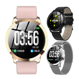 Bracciale sangue online-Smart Watch Braccialetto Sport Activity Fitness Tracker con battito cardiaco Blood Pressure Sleep Monitor Pedometro Wristband impermeabile smartwatch
