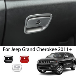 Chrome Co-Pilot Storage Box Handle Trim For 2011-2019 2020 Jeep Grand Cherokee