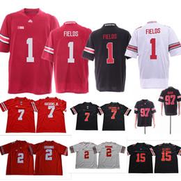 ohio state buckeyes jerseys Coupons - NCAA College Ohio State Buckeyes  Football Jerseys OSU Justin Fields 5ffba4296