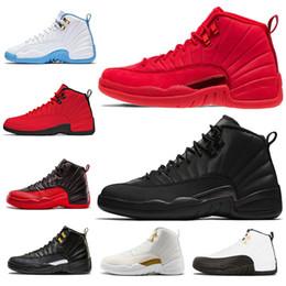 differently 68c82 96292 12 Chaussures de basket en gros Gym Red Bulls 12 12s Michigan UNC le maître  de Bordeaux taxis PSNY playoffs Designer de sport Sneakers taille 7-13