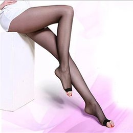 f301a30d95a 4 Colors Open Toe Ultra-Thin Pantyhose Women Fashion Summer Nylon Tights  Sheer Seamless Pantyhose Female Sexy Slim Stockings discount open toes  tights