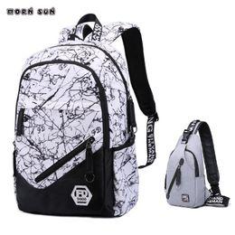 7f9cca6c3 2019 meninos da escola secundária bolsa para compra Adolescentes Menino  Sacos De Escola Estudantes Da High