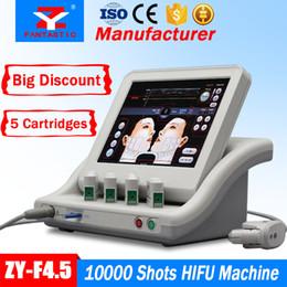 2019 maquinas de ultrasonido para arrugas EE. UU. Grado médico HIFU Retiro de arrugas por ultrasonido enfocado de alta intensidad Apretamiento de la piel HIFU Cuidado de la piel HIFU Levantamiento de la piel para adelgazar maquinas de ultrasonido para arrugas baratos
