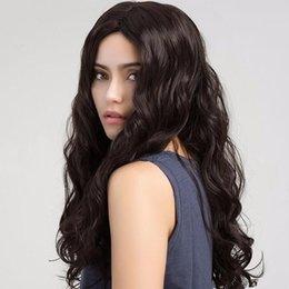 Parrucche Colore Naturale piena del merletto dell'onda del corpo di capelli umani malesi indiano Wave del corpo di parte anteriore del pizzo dei capelli umani parrucche con capelli del bambino da