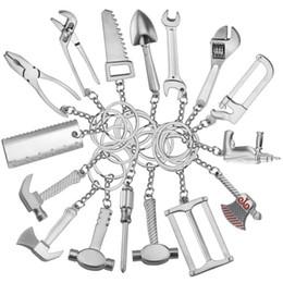 porte-clés haut de gamme Promotion Outils en métal créatifs porte-clés de mode clé à molette en métal porte-clés Party Favor pendentif pendentif cadeau de fête Home Decor TTA777