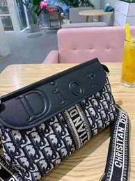 DIOR bolsa nova carta de ombro bolsa de couro de alta qualidade genuína Mensageiro saco de luxo sela de Fornecedores de longos para mulheres