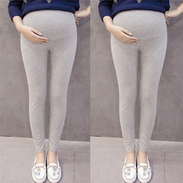 нейлоновые женщины беременные Скидка Одежда для беременных беременных беременная одежда женщины материнства беременных твердые колготки брюки брюки Брюки ropa maternidad D03