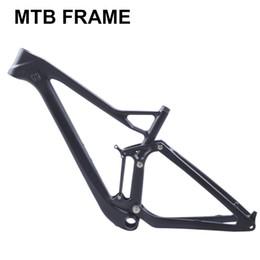 frame da bicicleta da estrada do carbono super Desconto Full twinloc suspensão XC carbono quadro de bicicleta de montanha disco 29er mtb carbono 29er / 27.5er além de quadro de suspensão de suspensão