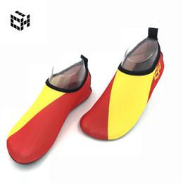 Calcetines suaves online-Deportes acuáticos Calzados para niños Mujeres Mar Calcetines de natación al aire libre Planos para adultos Suave Playa Paseos por la playa Actividades acuáticas Zapatos
