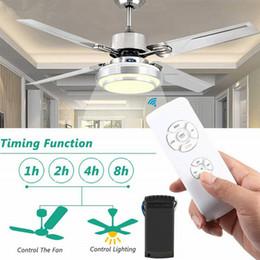2019 interruttore remoto a 12v Soffitto universale Fan Kit controller lampada Timing telecomando wireless 110V / 220V
